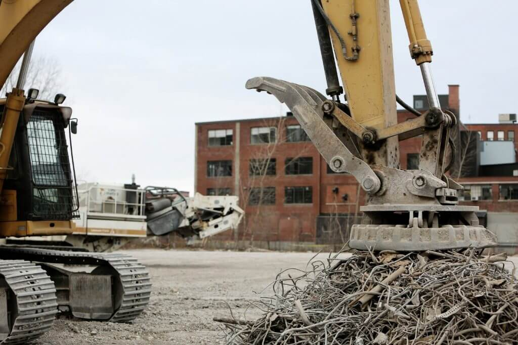 scrap metal collection in London