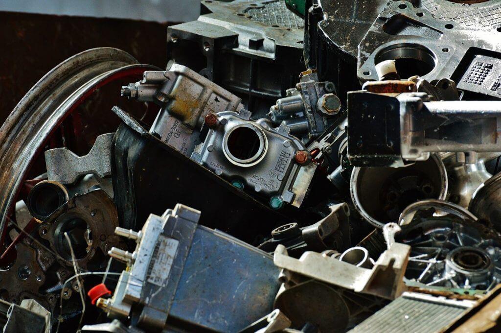 scrap yard in London